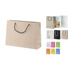 """Individualaus dizaino popierinis pirkinių krepšys, horizontalus """"CreaShop H"""""""