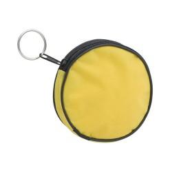 """""""Tazo"""" - apskritimo formos, nedidelė reklaminė piniginė su užtrauktuku ir metaliniu žiedu raktams, pagaminta iš neilono. """"Tazo"""""""