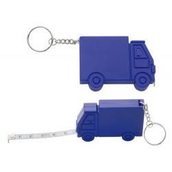 """""""Symmons"""" - tai sunkvežimio formos, reklaminis raktų pakabukas su 1 m ilgio matavimo rulete. """"Symmons"""" - praktiškas reklaminis"""