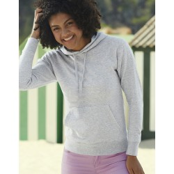 "Reklaminis džemperis ""Lady-Fit Lightweight Hooded Sweat"""