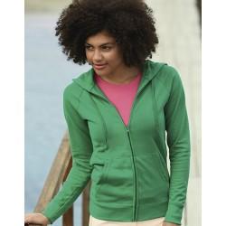 "Reklaminis megztinis ""Lightweight Hooded Sweat Jacket Lady-Fit"""