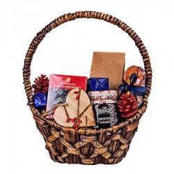 """Kalėdinė verslo dovana """"Merry Christmas Basket"""""""