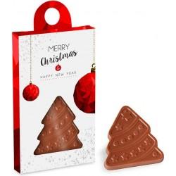 """Reklaminis šokoladukas """"Xmas Tree Box"""""""