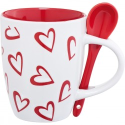 """Reklaminis puodelis su šaukšteliu """"Loveland"""""""