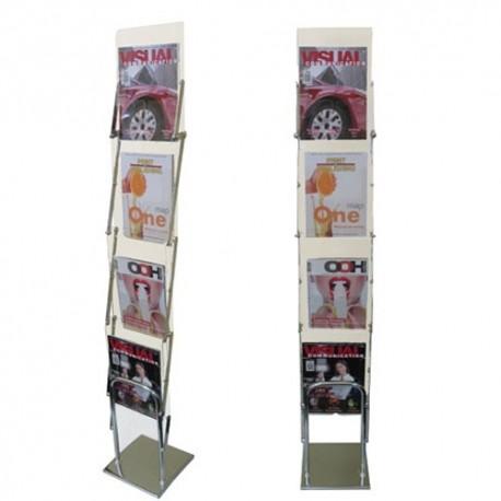 """Sulankstomas reklamos brošiūrų stendas """"Promo-fold"""""""