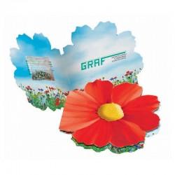 """Reklaminė sėklų atvirutė """"Summer flowers"""""""