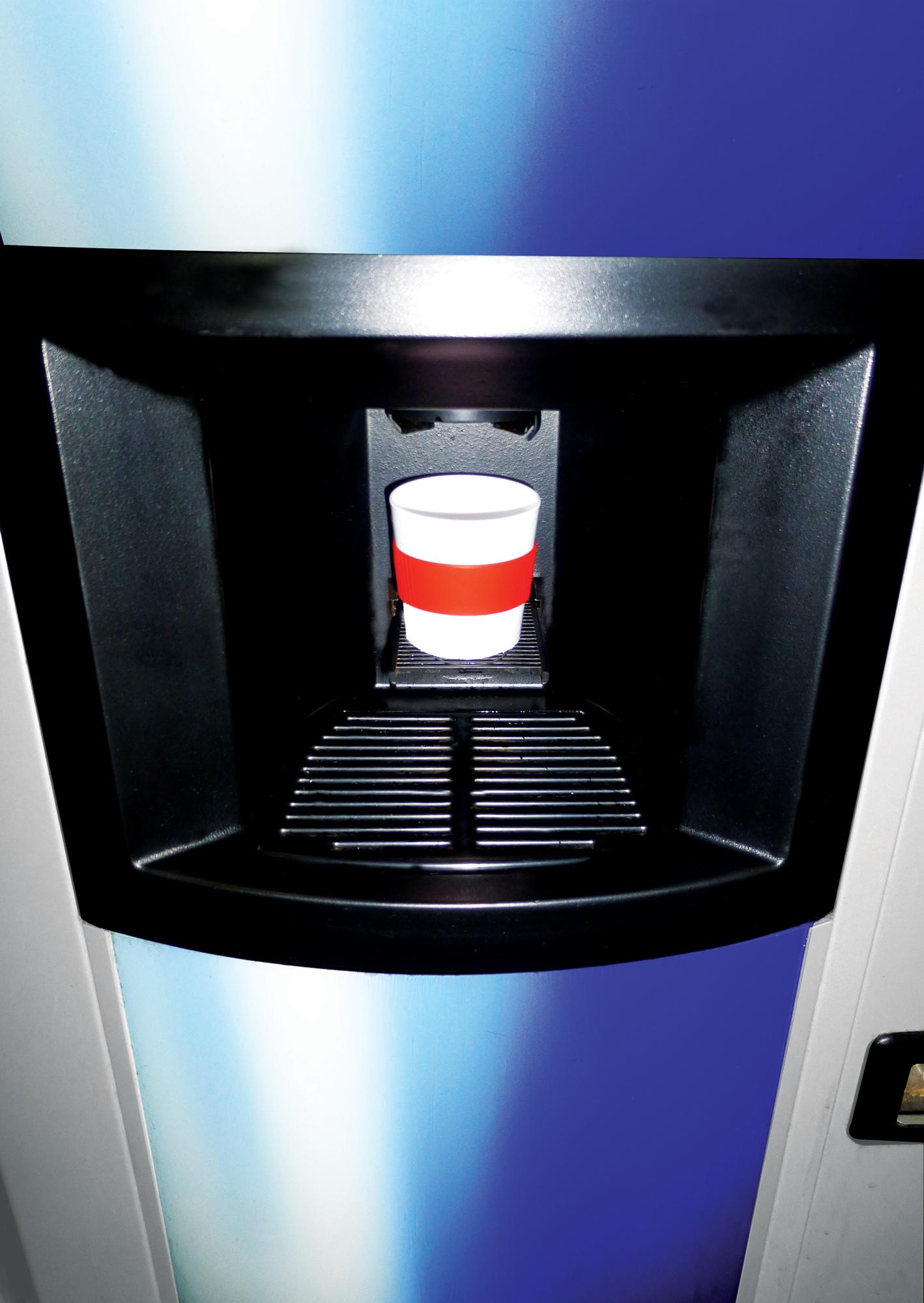 Americano Primo puodelis puikiai tinka kavos aparatams