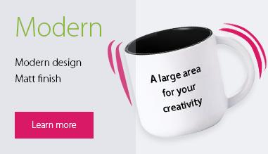 "Promotional mug ""Modern"""