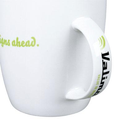 Spausdinimas ant puodelio auselės