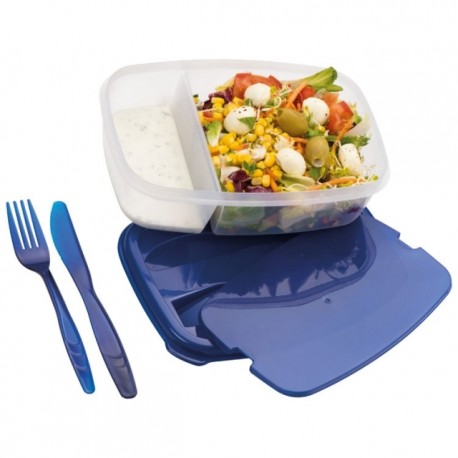 Plastic box with cutlery Matino