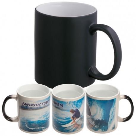 """Keičiantis spalvą reklaminis sublimacinis puodelis """"Sirmione""""'"""