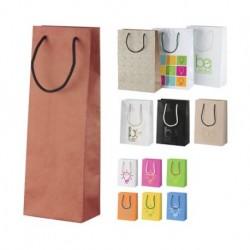 """Individualaus dizaino popierinis krepšys vynui """"CreaShop W"""""""