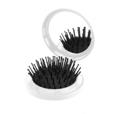 """""""Glance"""" - tai plastikinis, apskritimo formos, kišeninis reklaminis veidrodėlis. su šukomis. """"Glance"""" reklaminis veidrodėlis -"""