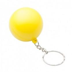 """Reklaminis raktų pakabukas su antistresiniu kamuoliuku """"Calm"""""""