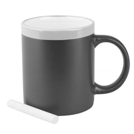 """Reklaminis puodelis su kreidele """"Colorful"""""""
