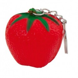 """Reklaminis raktų pakabukas su antistresiniu žaisliuku """"Fruty Strawberry"""""""