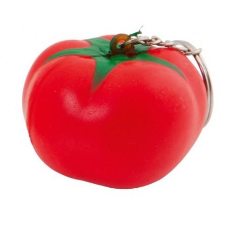 """Reklaminis raktų pakabukas su antistresiniu žaisliuku """"Fruty Tomato"""""""