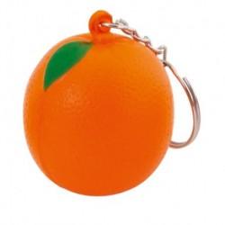 """Reklaminis raktų pakabukas su antistresiniu žaisliuku """"Fruty Orange"""""""