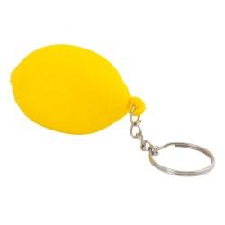 """Reklaminis raktų pakabukas su antistresiniu žaisliuku """"Fruty Lemon"""""""