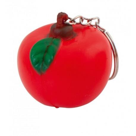 """Reklaminis raktų pakabukas su antistresiniu žaisliuku """"Fruty Apple"""""""
