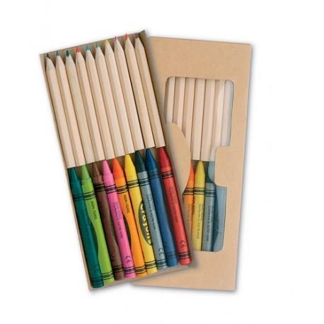 """Reklaminis pieštukų ir kreidelių rinkinys """"Aladin"""""""