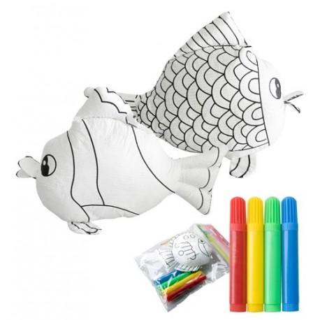 """Reklaminis 3d žaislas spalvinimui, žuvis """"Dranimal"""""""