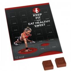 "Reklaminiai šokoladukai ""Calories Calendar"""