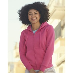 "Reklaminis megztinis ""Lady-Fit Hooded Sweat Jacket"""
