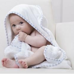 """Reklaminis rankšluostis vaikams """"Po Hooded Baby Towel"""""""