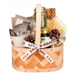 """Kalėdinė verslo dovana """"Rustic Basket"""""""