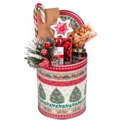 """Kalėdinė verslo dovana  """"Classic Christmas Tin Box mini"""""""