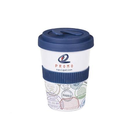 """Reklaminis puodelis su logotipu """"Coffee 2 Go Lock"""""""