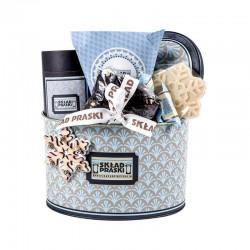 """Kalėdinė verslo dovana """"SP Snowflake Tin Box"""""""