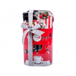 """Kalėdinė verslo dovana """"Coffee Time Tin Box"""""""