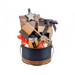 "Kalėdinė verslo dovana ""Fruttini Tin Box by Ovocnie"""