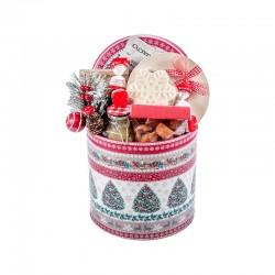 """Kalėdinė verslo dovana """"Classic Christmas Tin Box"""""""