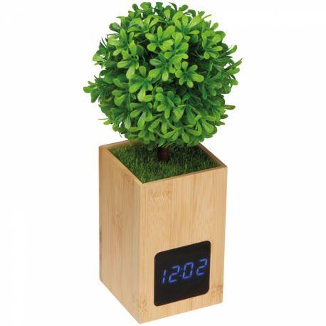 "Reklaminis stalo laikrodis "" TREE """