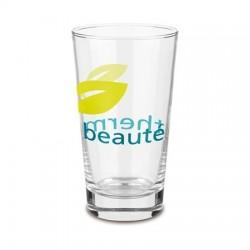 """Reklaminė stiklinė """"Clear Aqua"""""""
