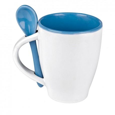 """Reklaminis puodelis su šaukšteliu """"Palermo"""""""