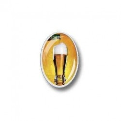 Ovalus reklaminis magnetas