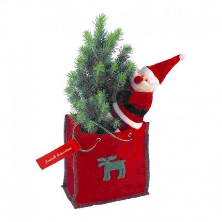 """Verslo dovana """"Little Tree in Felt Bag"""""""