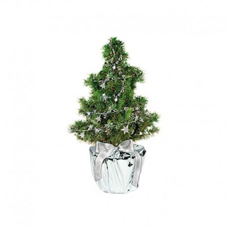 """Verslo dovana """"Silver Star Christmas Tree"""""""