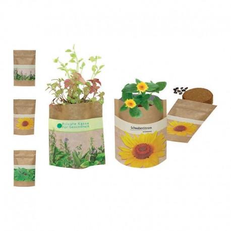 """Augalas ekologiškoje pakuotėje """"Nature Bag"""""""