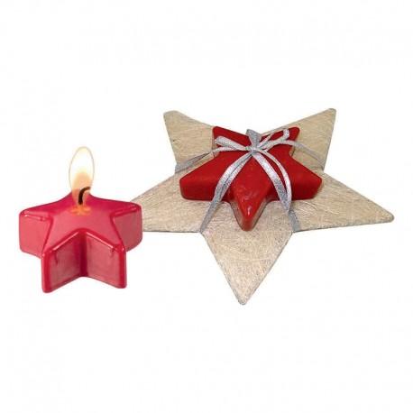 """Kalėdinė žvakė """"Star Candle Present"""""""