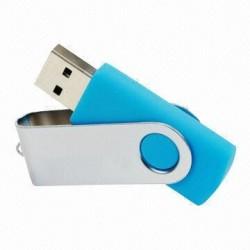 "Reklamine USB laikmena su metaline dekoracija ""Twist"""