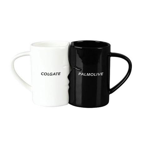 """Reklaminių puodelių rinkinys """"Black&White"""""""