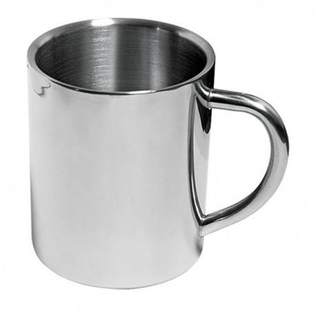 "Reklaminis metalinis puodelis ""Stainless steel"""