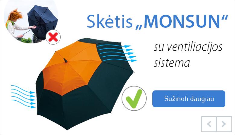 """Reklaminė verslo dovana - skėtis """"Monsun"""""""