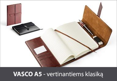 """Reklaminė verslo dovana - bloknotas """"Vasco A5"""""""