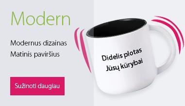 """Reklaminė verslo dovana - puodelis """"Modern"""""""